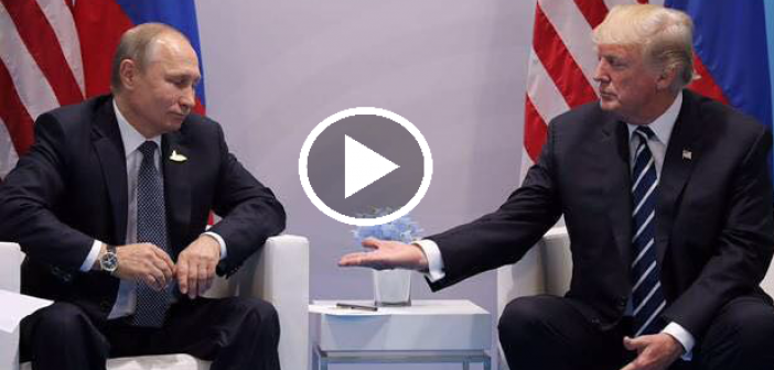 Putin and Trump's body language and it's meaning during the G20 meeting