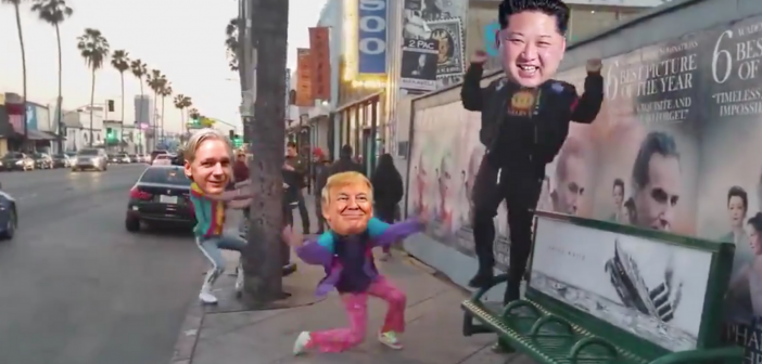 Watch: Hilarious video of Trump, Kim Jung-Un and Julian Assange goes viral