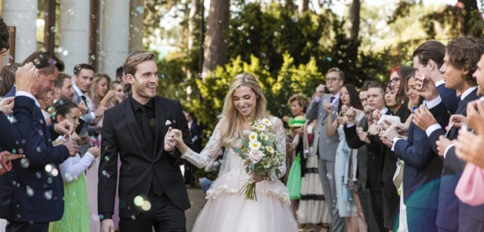 Youtuber Pewdiepie and longtime girlfriend, Marzia get married